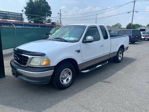 2001 Ford F-150 for sale at LINDER'S AUTO SALES in Gastonia NC