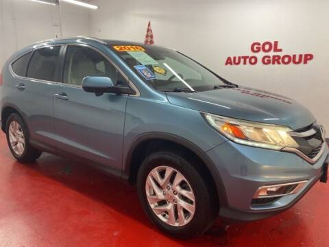 2016 Honda CR-V for sale at GOL Auto Group in Austin TX