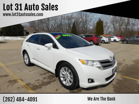 2014 Toyota Venza for sale at Lot 31 Auto Sales in Kenosha WI