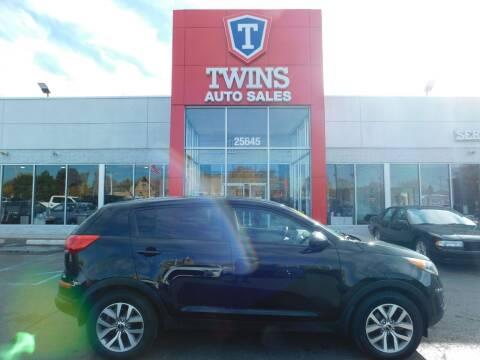 2015 Kia Sportage for sale at Twins Auto Sales Inc Redford 1 in Redford MI