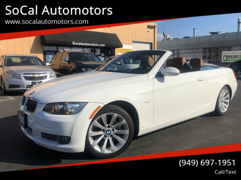 2008 BMW 3 Series for sale at SoCal Automotors in Costa Mesa CA