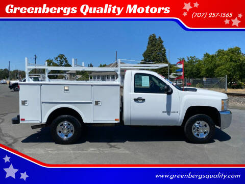 2009 Chevrolet Silverado 2500HD for sale at Greenbergs Quality Motors in Napa CA