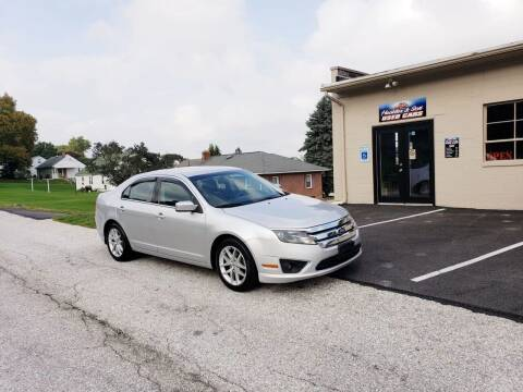 2012 Ford Fusion for sale at Hackler & Son Used Cars in Red Lion PA