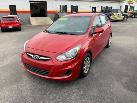 2012 Hyundai Accent for sale at Credit Connection Auto Sales Dover in Dover PA