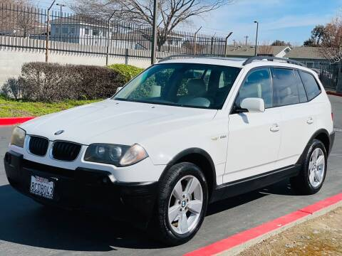 2004 BMW X3 for sale at United Star Motors in Sacramento CA
