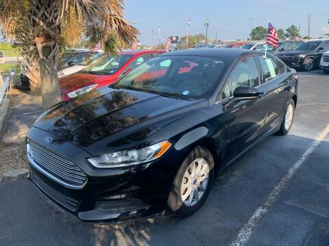 2016 Ford Fusion for sale at Sun Coast City Auto Sales in Mobile AL