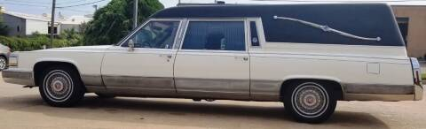 1992 Cadillac Brougham for sale at FRANSISCO & MONROE FUNERAL CAR SALES LLC in Tulsa OK