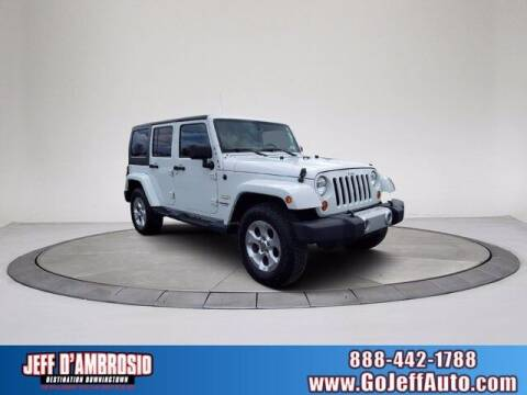 2013 Jeep Wrangler Unlimited for sale at Jeff D'Ambrosio Auto Group in Downingtown PA