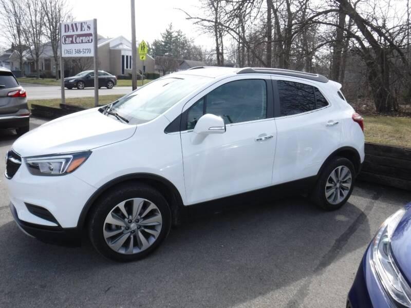 2019 Buick Encore for sale at Dave's Car Corner in Hartford City IN