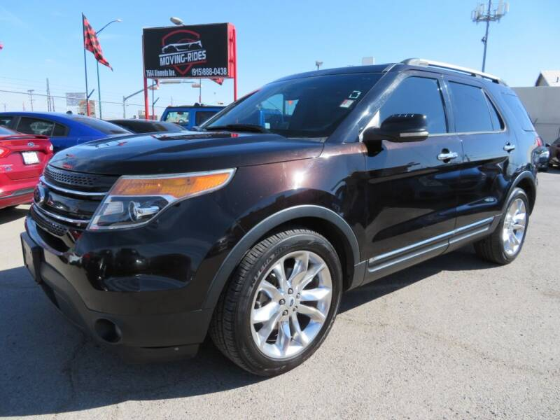 2013 Ford Explorer for sale at Moving Rides in El Paso TX