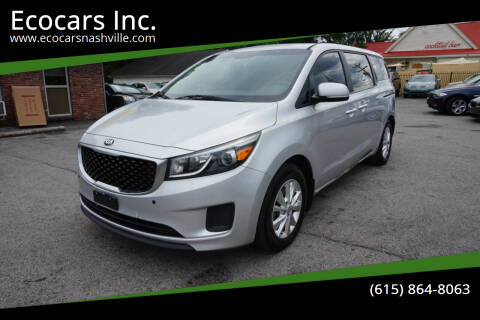 2015 Kia Sedona for sale at Ecocars Inc. in Nashville TN