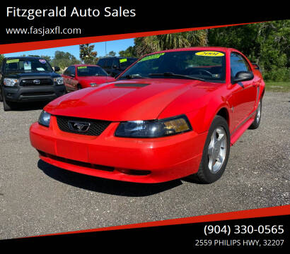 2001 Ford Mustang for sale at Fitzgerald Auto Sales in Jacksonville FL