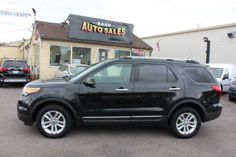 2011 Ford Explorer for sale at BANK AUTO SALES in Wayne MI