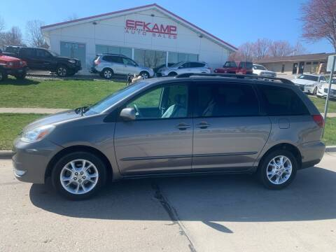 2005 Toyota Sienna for sale at Efkamp Auto Sales LLC in Des Moines IA