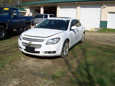 2012 Chevrolet Malibu for sale at Summit Auto Inc in Waterford PA