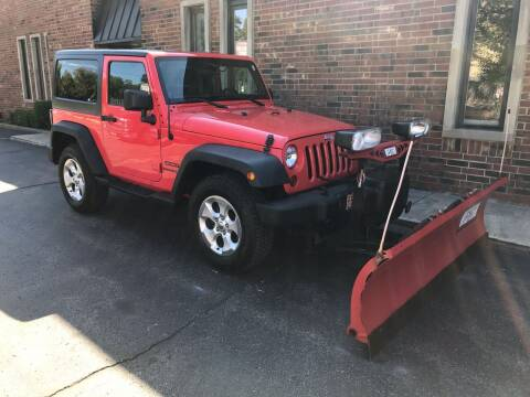 2013 Jeep Wrangler for sale at Riverview Auto Brokers in Des Plaines IL