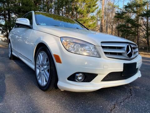 2008 Mercedes-Benz C-Class for sale at Lenoir Auto in Lenoir NC