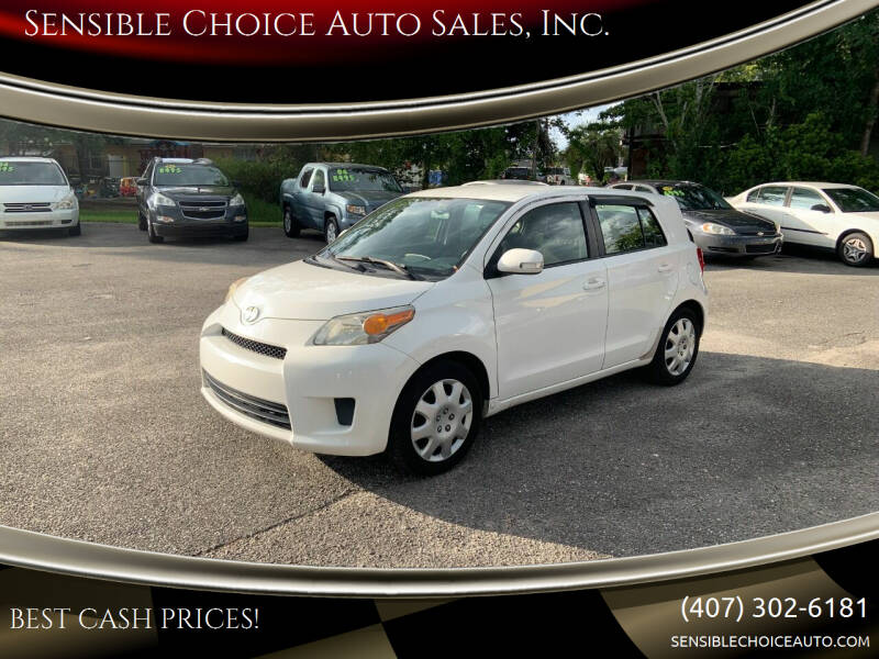 2014 Scion xD for sale at Sensible Choice Auto Sales, Inc. in Longwood FL