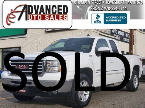 2009 GMC Sierra 1500 for sale at Advanced Auto Sales in Tewksbury MA