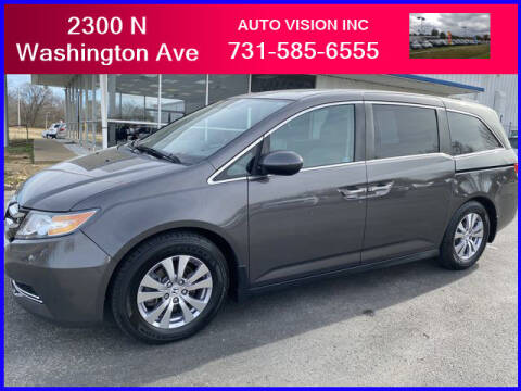 2014 Honda Odyssey for sale at Auto Vision Inc. in Brownsville TN