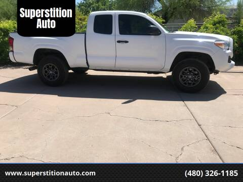 2017 Toyota Tacoma for sale at Superstition Auto in Mesa AZ