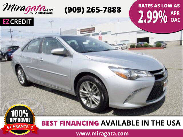 2017 Toyota Camry for sale at Miragata Auto in Bloomington CA