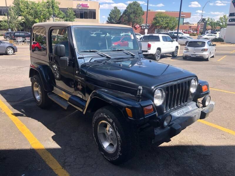 2000 Jeep Wrangler for sale at Pammi Motors in Glendale CO