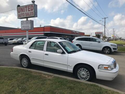 2008 Mercury Grand Marquis for sale at United Auto Sales in Oklahoma City OK