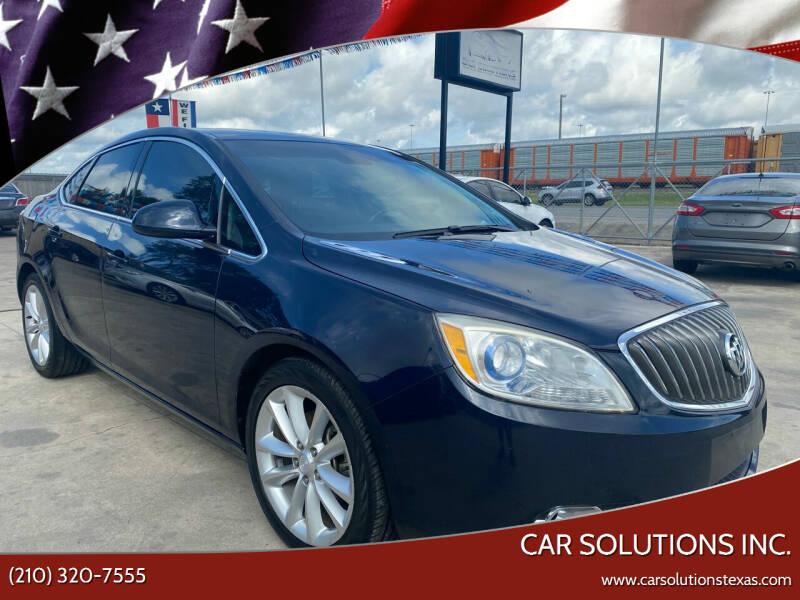2016 Buick Verano for sale at Car Solutions Inc. in San Antonio TX