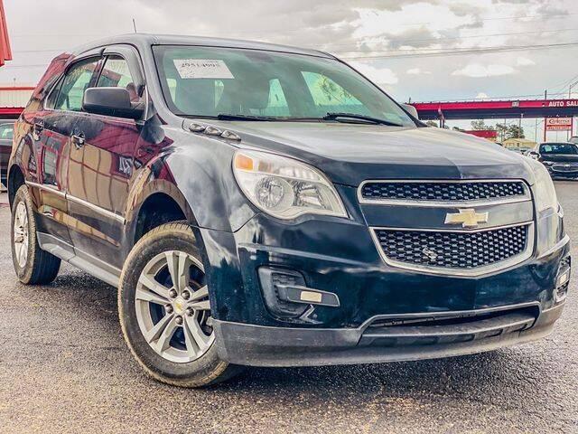 2011 Chevrolet Equinox for sale at MAGNA CUM LAUDE AUTO COMPANY in Lubbock TX