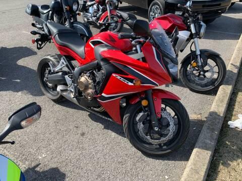 2018 Honda CBR650R for sale at Dan Powers Honda Motorsports in Elizabethtown KY