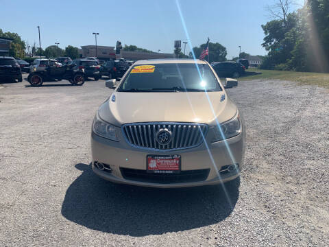 2011 Buick LaCrosse for sale at Community Auto Brokers in Crown Point IN