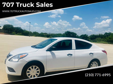 2015 Nissan Versa for sale at 707 Truck Sales in San Antonio TX