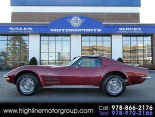 1970 Chevrolet Corvette for sale at Highline Group Motorsports in Lowell MA