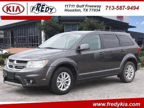 2016 Dodge Journey for sale at FREDY KIA USED CARS in Houston TX