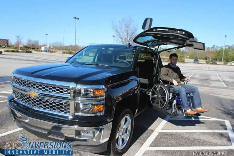 2021 Chevrolet Silverado 1500 for sale at Handicap of Jackson in Jackson TN