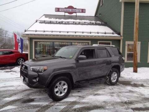 2017 Toyota 4Runner for sale at SCHURMAN MOTOR COMPANY in Lancaster NH