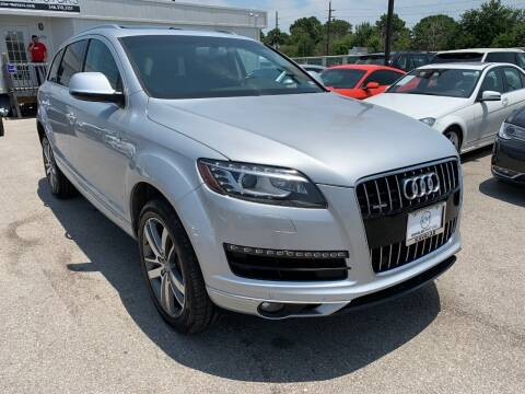 2015 Audi Q7 for sale at KAYALAR MOTORS in Houston TX