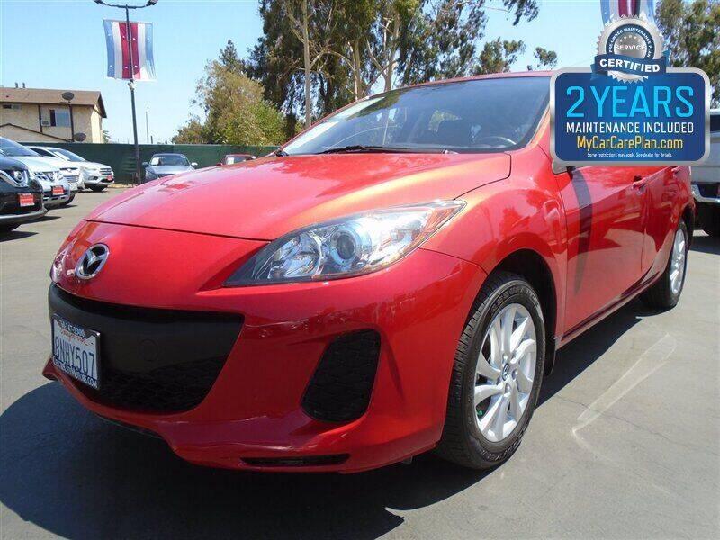 2013 Mazda MAZDA3 for sale at Centre City Motors in Escondido CA