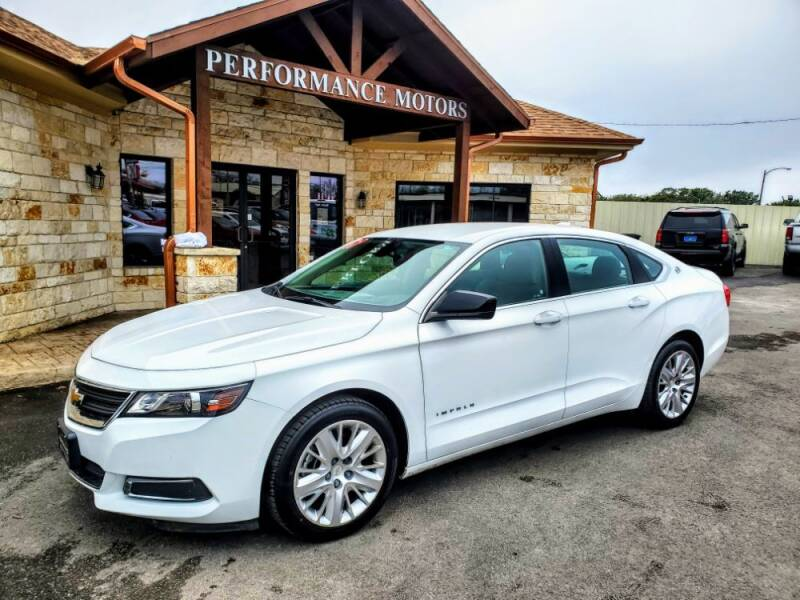 2017 Chevrolet Impala for sale at Performance Motors Killeen Second Chance in Killeen TX
