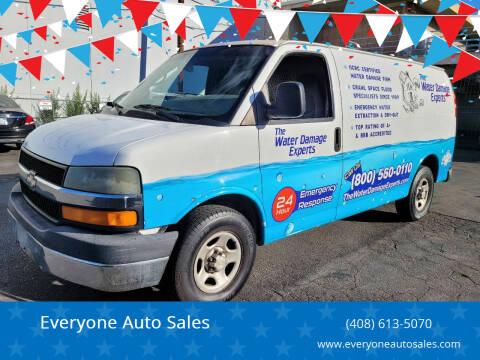 2006 Chevrolet Express Cargo for sale at Everyone Auto Sales in Santa Clara CA