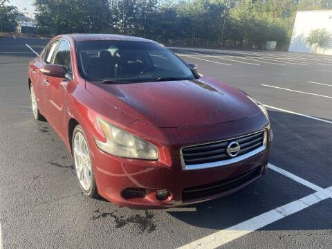 2012 Nissan Maxima for sale at CU Carfinders in Norcross GA