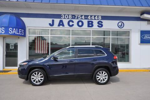 2015 Jeep Cherokee for sale at Jacobs Ford in Saint Paul NE