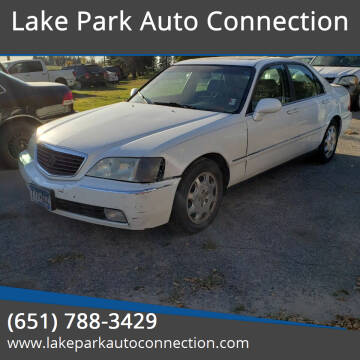 2001 Acura RL for sale at Lake Park Auto Connection in Lake Park MN