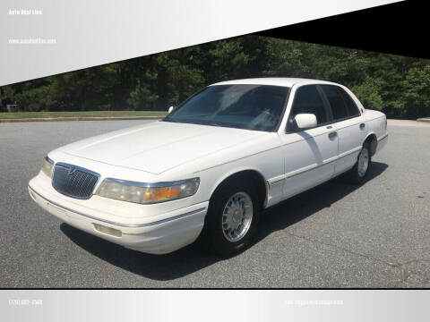 1995 Mercury Grand Marquis for sale at Auto Deal Line in Alpharetta GA