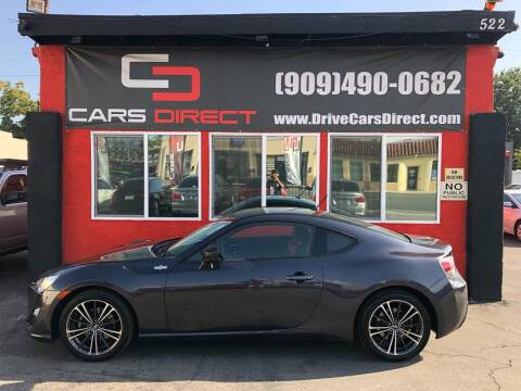 2013 Scion FR-S for sale at Cars Direct in Ontario CA