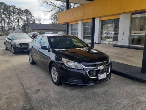 2014 Chevrolet Malibu for sale at PIRATE AUTO SALES in Greenville NC