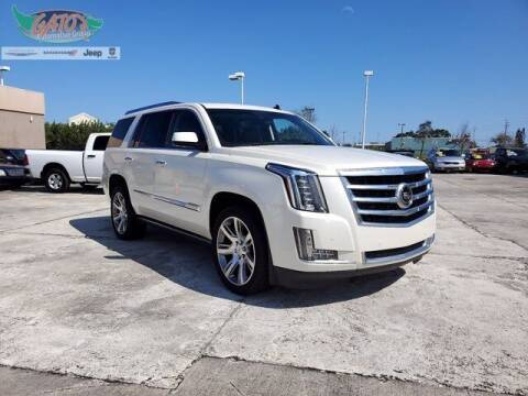2015 Cadillac Escalade for sale at GATOR'S IMPORT SUPERSTORE in Melbourne FL