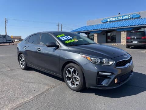 2020 Kia Forte for sale at SPEND-LESS AUTO in Kingman AZ