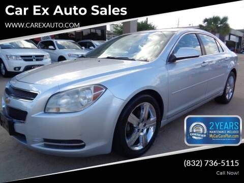 2011 Chevrolet Malibu for sale at Car Ex Auto Sales in Houston TX